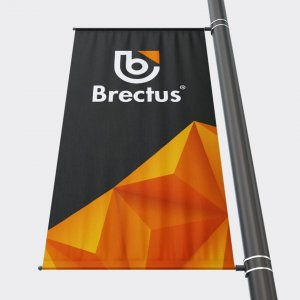Brectus banner arm flagg