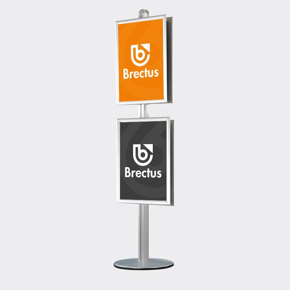 Brectus Stojak na plakaty Multistand 4
